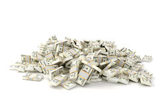 3d render image of stack of money Royalty Free Stock Photography