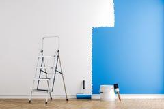 3d render of interior wall - work in progress. Concept vector illustration
