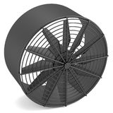 3d render of large fan Stock Photos