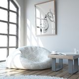 Living Room Interior. 3D render of a Living Room Interior Stock Images