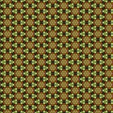 3D render luxury puff pixels seamless background. 3D render of luxury seamless background with embossed abstract puff pixels pattern Royalty Free Stock Photography