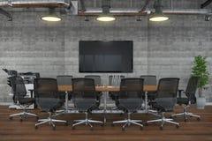 3d render - meeting room - office building Stock Photos