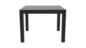 Black Side Table Stock Images