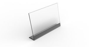 Black Blank Computer Screen Royalty Free Stock Photo