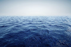 3d render of ocean and beautiful blue sky Royalty Free Stock Photography
