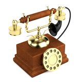 3d render of old telephone Stock Image