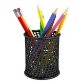 3d render of pencils set Stock Photos