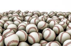 Baseballs pile Royalty Free Stock Image