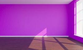 3d render pink bedroom royalty free stock photos