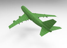 3D render plane Royalty Free Stock Photography