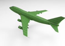 3D render plane Royalty Free Stock Images