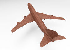 3D render plane Stock Photo