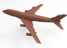 3D render plane Stock Image