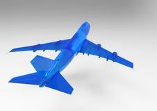 3D render plane Stock Photography