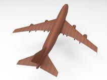 3D render plane Royalty Free Stock Image