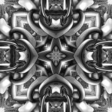 3D render plastic background tile Stock Photos