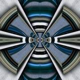 3D render plastic luxus background tile. 3D render of plastic background tile with embossed luxus abstract pattern Royalty Free Stock Image