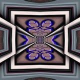 3D render plastic luxus background tile. 3D render of plastic background tile with embossed luxus abstract pattern Royalty Free Stock Photos