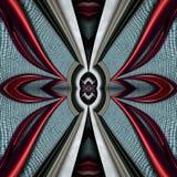 3D render plastic luxus background tile. 3D render of plastic background tile with embossed luxus abstract pattern Stock Image