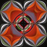 3D render plastic puffs background tile. 3D render of plastic puffs background tile with embossed abstract ornament Stock Photography