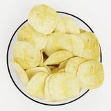 3D Render of Potato Chips. Realistic 3D Render of Potato Chips stock illustration