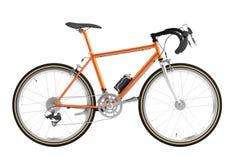 3d render of racing bicycle. Realistic 3d render of racing bicycle Royalty Free Stock Image