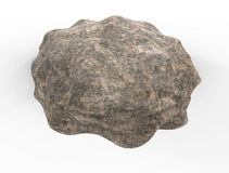 3d render of rock stone Royalty Free Stock Images