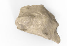 3d render of rock stone Royalty Free Stock Image