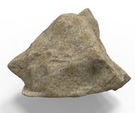 3d render of rock stone Stock Photography