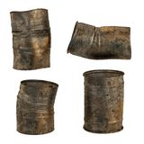 3d render of rusty cans Stock Images