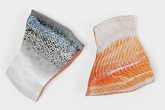 3D Render of Salmon Fillet. Realistic 3D Render of Salmon Fillet Royalty Free Stock Photography