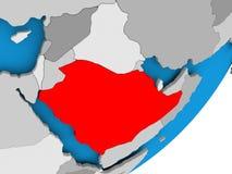 Map of Saudi Arabia Stock Photos