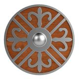 3d render of shield Royalty Free Stock Image