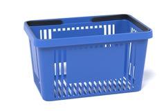 3D Render of Shopping Basket. Realistic 3D Render of Shopping Basket Stock Photography