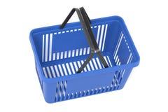 3D Render of Shopping Basket. Realistic 3D Render of Shopping Basket Stock Photo