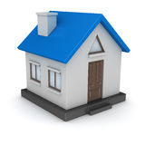 3d render of small house Stock Photos