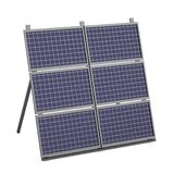 3d render of solar panel Royalty Free Stock Images