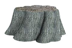 3d render of stump Stock Photography