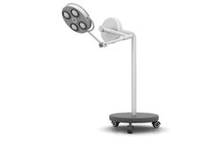 3d render of Surgical lamps Stock Photography