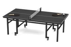 3d render of table tennis Stock Photos