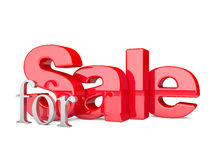 3d render of the text SALE Royalty Free Stock Images
