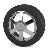 3d render of tire Stock Image
