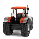 3d render of tractor Royalty Free Stock Photos