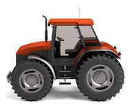 3d render of tractor Stock Photography
