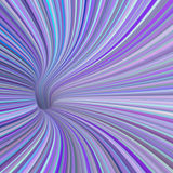 3d render tunnel pipe in blue purple pink Stock Images