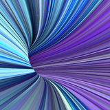 3d tunnel pipes in multiple purple blue colors Stock Photography