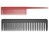 3d Render of Two Types of Combs Royalty Free Stock Photography