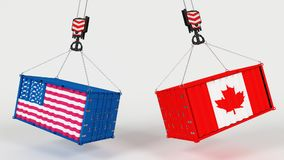 US Import Tarrifs. 3D Render of US Import Tarrifs Stock Photos
