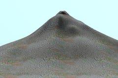 3d render of volcano Stock Photos