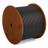 3d render of wire spool Royalty Free Stock Photography